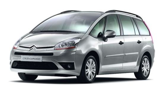 charleroi airport to brussels city transfer by taxi minibus and coach citroën grand c4 picasso